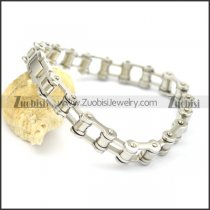 9mm wide woman motorcycle bike chain bracelet b002422