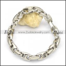 10mm wide bracelet with big casting lobster clasp b002427