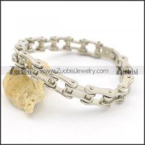 Stainless Steel Bike Chain Bracelets in 12MM Wide 22CM Long b003060