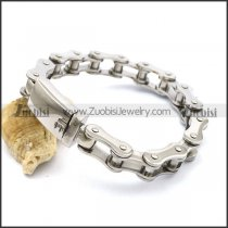 11MM Bike Chain Bracelet with Side Release Buckle b003777