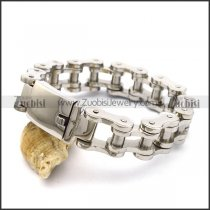 19MM Wide Bicycle Chain Bracelet with SR Buckle b003778