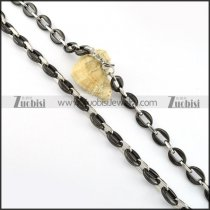 Stainless Steel Necklace -n000219