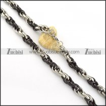 Stainless Steel Necklace -n000227
