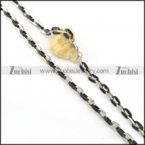 Stainless Steel Necklace -n000217