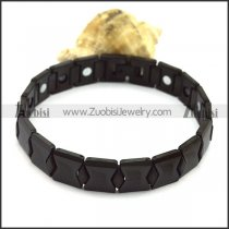 Black Tungsten Carbide Bracelets b003764