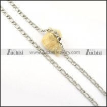 pleasant noncorrosive steel Necklace -n000287