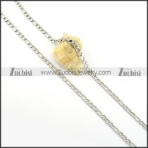 brilliant oxidation-resisting steel Necklace -n000285