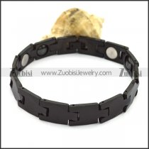 Black Tungsten Band in Simple Design b003760