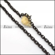 high quality Stainless Steel Stamping Necklace for Wholesale -n000257