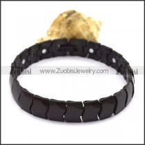 Black Tungsten Carbide Bracelet b003763