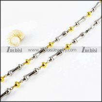 Stainless Steel Necklaces -n000117