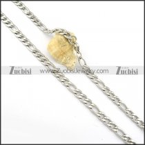 nice nonrust steel Necklace -n000288