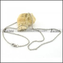 Unique Oxidation-resisting Steel small chain necklaces for ladies -n000378