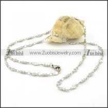 Pretty Nonrust Steel small chain necklaces for ladies -n000389