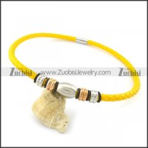 leather necklace n000433