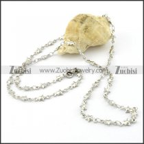 Attractive Oxidation-resisting Steel small chain necklaces for ladies -n000392