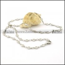 Remarkable Nonrust Steel small chain necklaces for ladies -n000390
