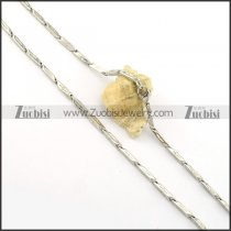 Hot Selling Stainless Steel small chain necklaces for ladies -n000396