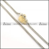 6mm round snake necklace chain n000521