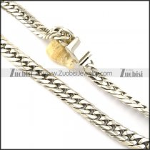 good welcome oxidation-resisting steel Stamping Necklaces for Men -n000331