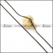 Pleasant Stainless Steel stamping necklaces -n000402