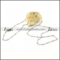 Wonderful 316L small chain necklaces for ladies -n000379