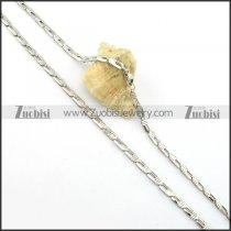 Hot Welcome 316L Stainless Steel small chain necklaces for ladies -n000395
