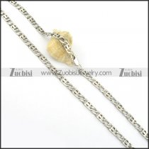 55cm long stainless steel necklace chain for mens n000547