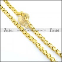 Gold Plated Necklaces n000582