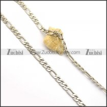 8MM Figaro Chain Necklace n000965