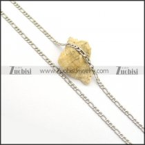 Stainless Steel Figaro Chains for Sale n000963