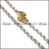 10mm Stainless Steel Rolo Chain n001024
