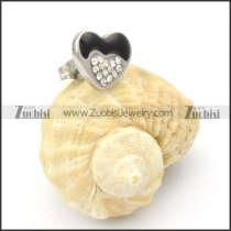 Stainless Steel Heart Earrings -e000151