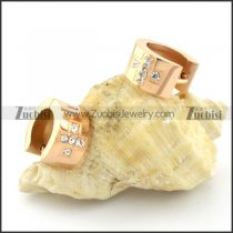 nice oxidation-resisting steel Cutting Earrings for Women - e000337