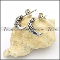 Stainless Steel Dragon's Claw Earrings -e000135