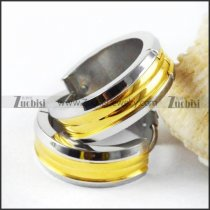 Gold and Silver Plating Stainless Steel Earring - e000010