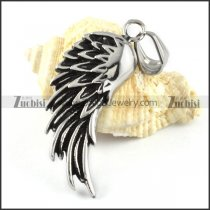 Wing Stainless Steel Pendant - p000154