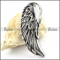 Stainless Steel Wing Pendant - p000162