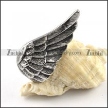 Stainless Steel Wing Pendant - p000165