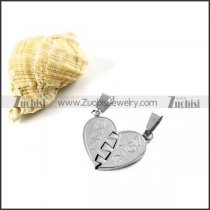 Forever Love Stainless Steel Pendant - p000003