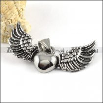 Flying Wing Stainless Steel Pendant - p000156