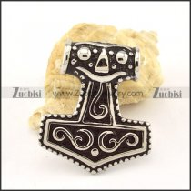 functional nonrust steel Hammer of Thor Pendants for men & bikers - p000475