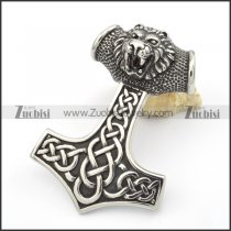 Big Stainless Steel Hammer of Leo Pendants -p000345