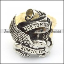 live to ride eagle pendants for mens p001495