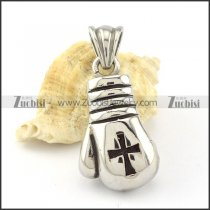 Stainless Steel boxing glove Pendant -p000884