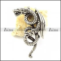 Hot Selling 316L Stainless Steel Dragon Pendant -p001122