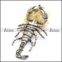 Big Stainless Steel Scorpion King Pendant p002092