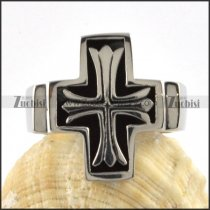 Stainless Steel Germany Cross Ring - r000074