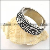 Petty Stainless Steel Ring for Wholesale - r000304