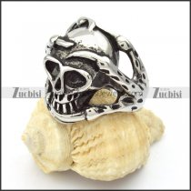 Stainless Steel Skull Exaggerated Rings -r000419